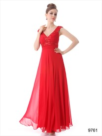 Red Prom Dresses With Straps,Mother Of The Bride Dresses For Outdoor Country Wedding