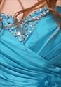 Short Light Blue Turquoise Homecoming Dress