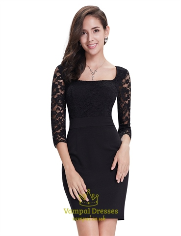 Cocktail Dresses Uk With Sleeves 115